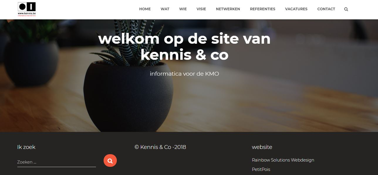 Website van kennis.rocks