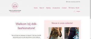 Portfolio: Rainbow Solutions Webdesign: DDK-fasion store
